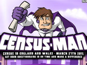 Census Man game