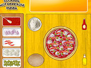 Cooking Hot Peperoni Pizza game