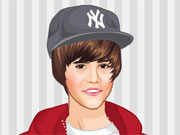 Cute Justin Bieber Dressup game