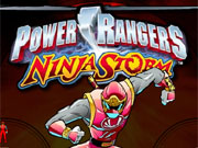 Play Power Rangers Ninja Storm game