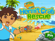 Play Diego Hermit Crab Rescue game