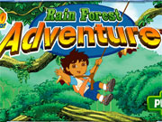 Play Diego Rain Forest Adventure game