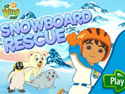 Play Diego Snowboard Rescue game