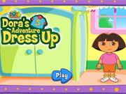 Dora Adventure Dress Up game