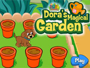 Play Dora Magical Garden game