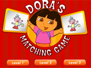 Play Dora Matching Game game