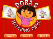 Dora Matching Game game