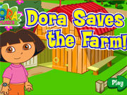 Play Dora Saves The Farm game