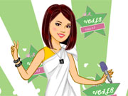 Dress Up Charming Selena Gomez game