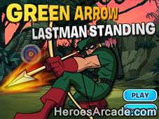 Green Arrow Lastman Standing game