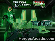Green Lantern Battle Shifters game