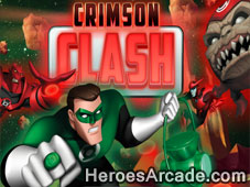 Green Lantern Crimson Clash game