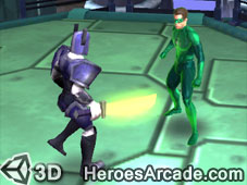 Play Green Lantern Emerald Adventures game