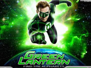 Play Green Lantern Find The Alphabets game