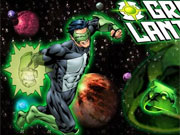 Green Lantern Flying Fight game