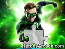 Green Lantern Puzzle game
