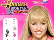 Hannah  Montana Make Up game