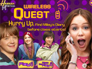 Play Hannah Montana Cellphone Quest game