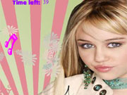 Play Hannah Montana Music Note Mayhem game