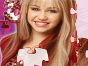 Hannah Montana Puzzle 1 game