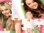 Play Hannah Montana  Puzzle 4 game