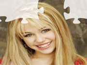 Hannah Montana Puzzle 8 game