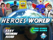Heroes World game