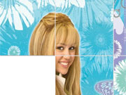 Play Hannah Montana Slide game
