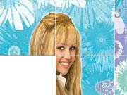 Hannah Montana Slide game
