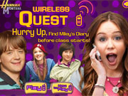 Hannah Montana Wireless Quest game