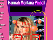 Play Hannah Montana Pinball game