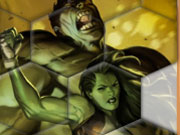 Play Hulk Family Fix My Tiles game