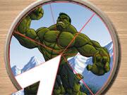 Hulk Pic Tart game