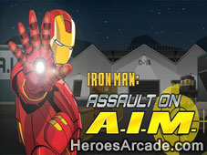 Play Iron Man 2 Assault on AIM game