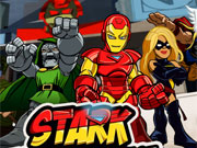 Play Iron Man 2 Stark Tower  Defense game