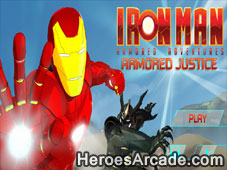 Play Iron Man Armored Justice game