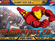 Play Iron Man Flight Test 2 game