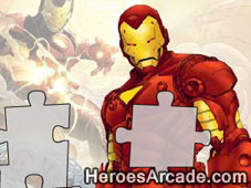 Iron Man Puzzle game
