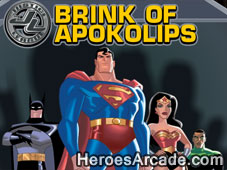 Justice League Brink of Apokolips game