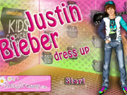 Play Justin Bieber Dressup game