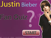 Justin  Bieber Fan Quiz game
