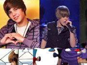 Justin Bieber Puzzle game
