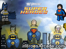 Play Lego Super Heroes - DC Universe game