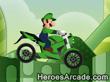 Luigi Bike Course game