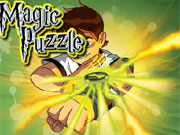Magic Puzzle Ben 10 game