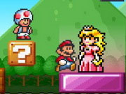 Mario Block Jump game