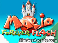 Play Mario Forever Flash game