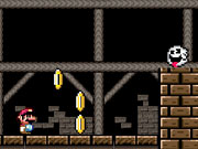 Play Mario Ghosthouse game
