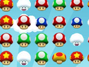 Play Mario Mushroom Match game
