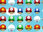 Mario Mushroom Match game